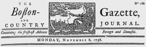 bost_gazette_1758nov06nameplate